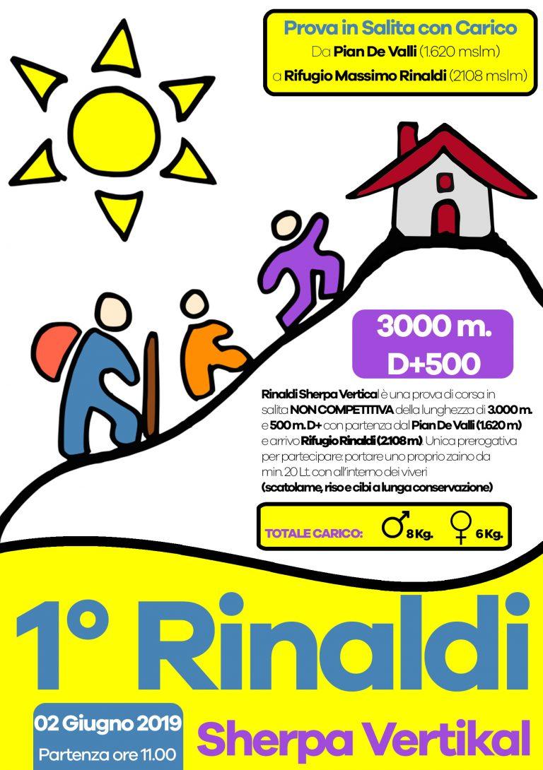 Locandina Rinaldi Sherpa Vertikal